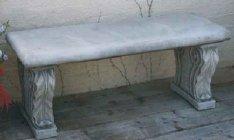 Bullnosed Bench