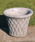 Round Basket Pot