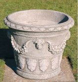 Large Victorian Face Urn