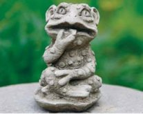 Midi Frog Gargoyle
