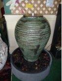 Copper Adobe Jar Fountain
