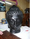 Terrazzo Buddha Head