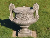 Handled Urn