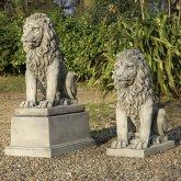 Lion Plinth