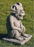Ram Horn Gargoyle