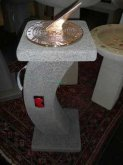 Sundial Curved Plinth