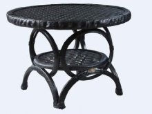 Cafe table Round Woven