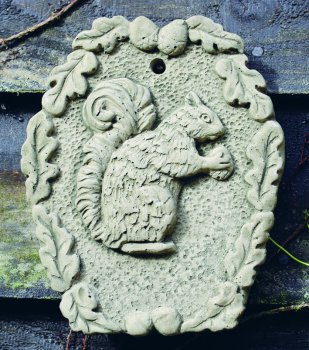 Squirrel Plaque